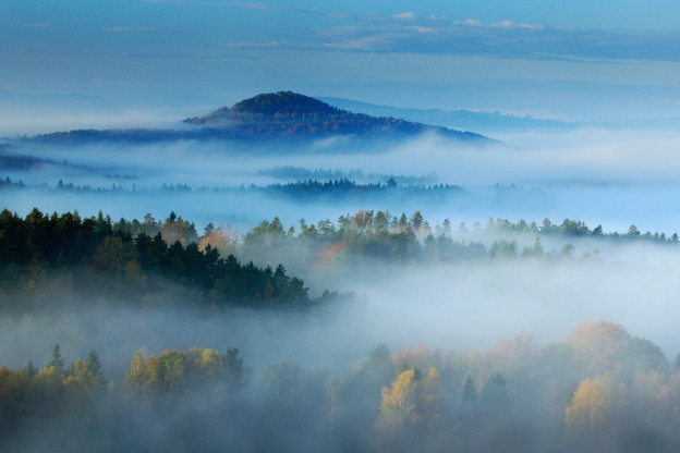 Incredible beauty of the Bohemian Switzerland landscape!